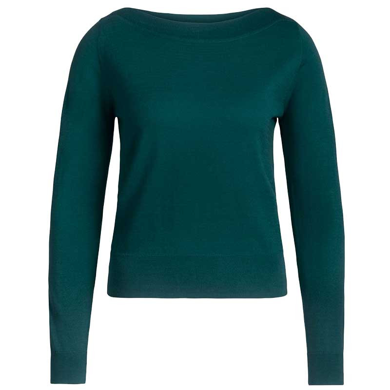 King Louie Bluse, Audrey Organic, Pine Green King Louie top Audrey Organic Cottonclub
