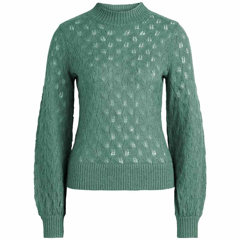 king louie King louie sweater, jeannie vallina, fir green fra superlove