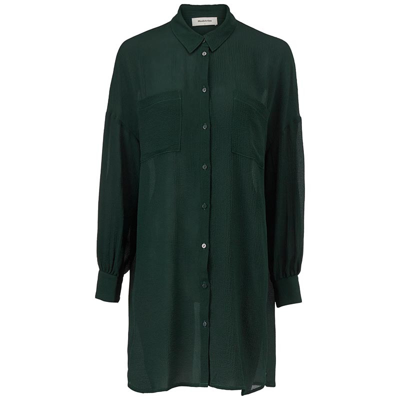 Modström Skjorte, Forest Shirt, Empire Green