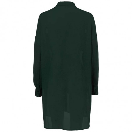 Modström Skjorte, Forest Shirt, Empire Green bagfra