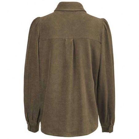 Modström Skjorte, Freya shirt, Bronze bagfra