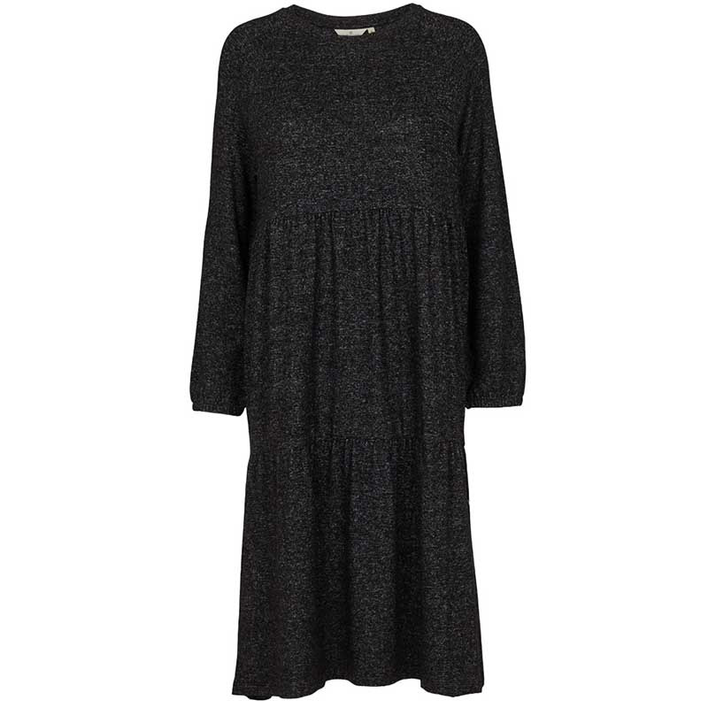 Basic apparel kjole, maibritt, antracit fra basic apparel fra superlove