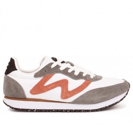 Woden Sneakers dame, Olivia II, Autumn grey/white woden sko dame woden