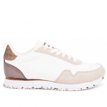 Woden Sneakers dame, Nora IlI, Bright White woden sko dame woden sko forhandler