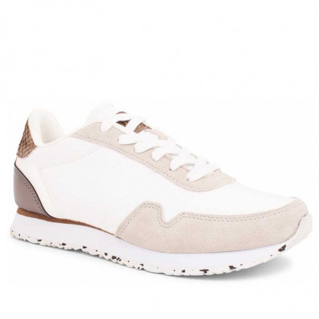 Woden Sneakers dame, Nora IlI i Bright White woden sko dame side