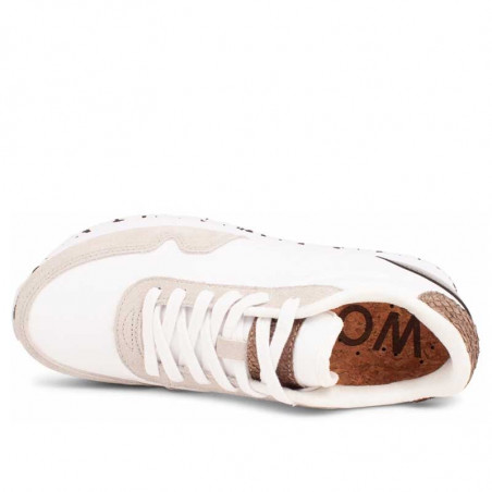 Woden Sneakers dame, Nora IlI, Bright White woden sko dame woden sko top