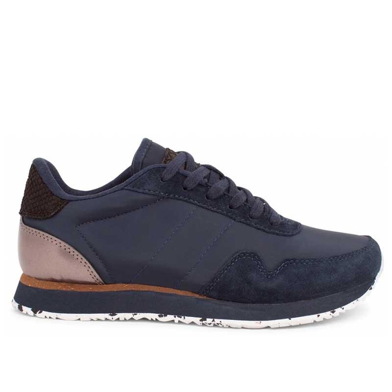 Woden Sneakers dame, Nora III, Navy woden sko dame woden nora