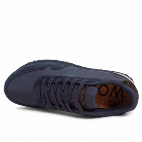 Woden Sneakers dame, Nora III, Navy woden sko dame woden nora set oppefra