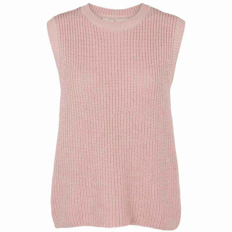 basic apparel – Basic apparel vest, sweety, pale mauve på superlove