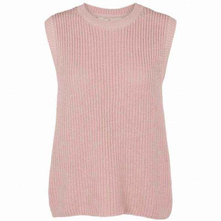 Basic Apparel Vest, Sweety, Pale Mauve, basic apparel, strikket vest