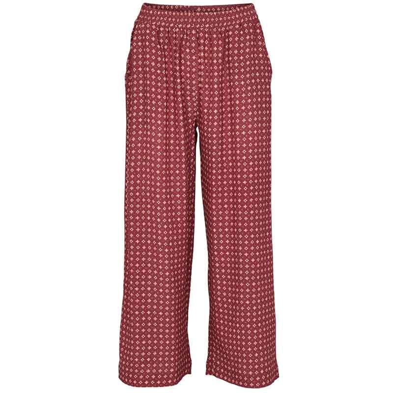 basic apparel Basic apparel bukser, debbie, earth red fra superlove