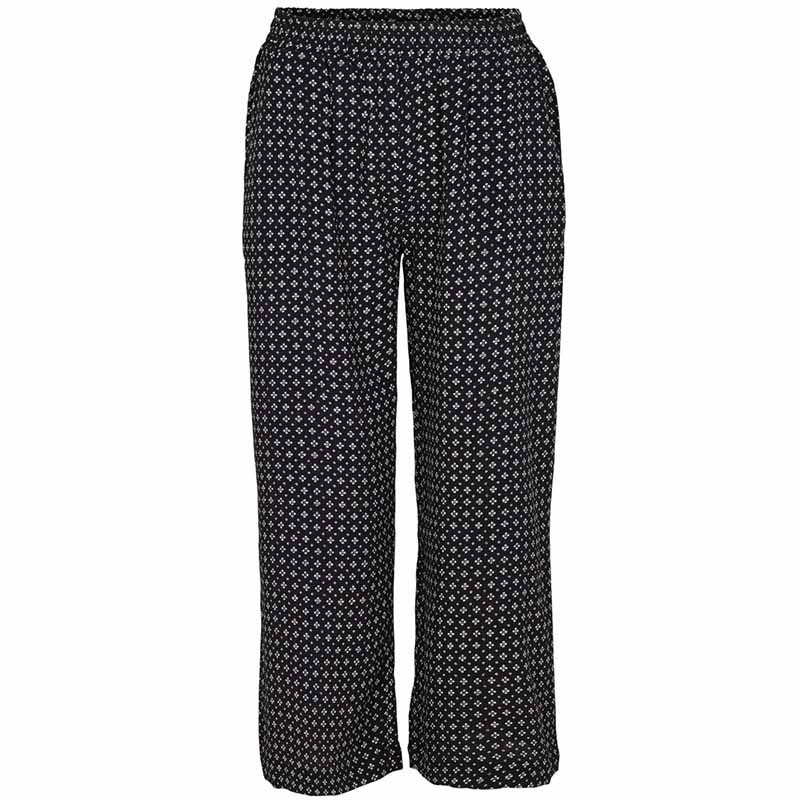 basic apparel Basic apparel bukser, debbie, black fra superlove