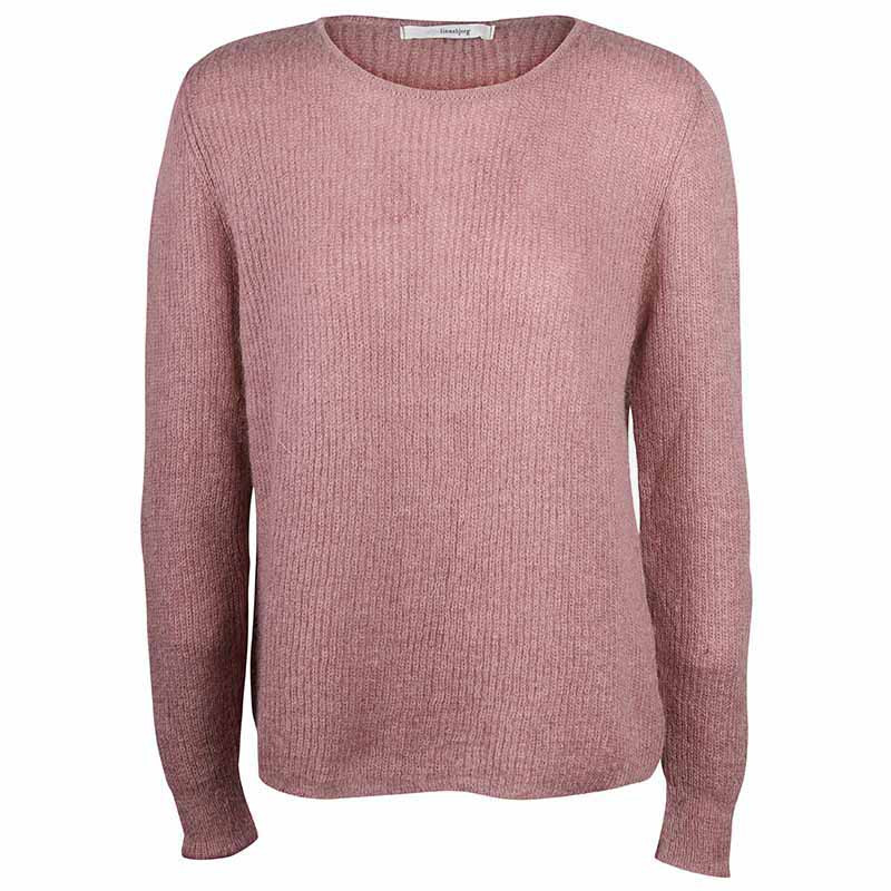 Sibin Linnebjerg Strik, Capri, Dark Nude Sibin Linnebjerg strikket sweater dame