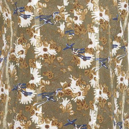 PBO Skjorte, Carna, Green Print print