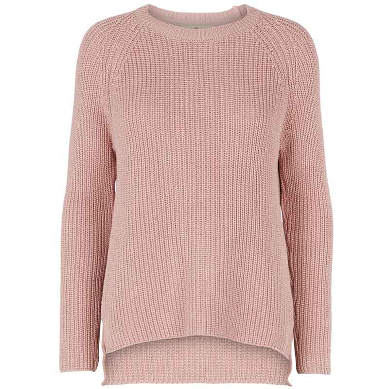 Basic apparel strik, sweety, pale mauve fra basic apparel fra superlove