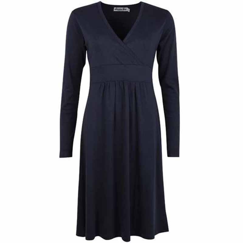 danefæ Danefæ kjole, beth, navy fra superlove