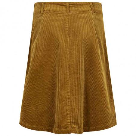 Nümph Nederdel, Numeghan, Bronze Brown numph tøj - Bagside