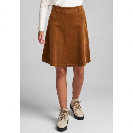 Nümph Nederdel, Numeghan, Bronze Brown numph tøj front