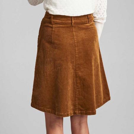 Nümph Nederdel, Numeghan, Bronze Brown numph tøj - detalje
