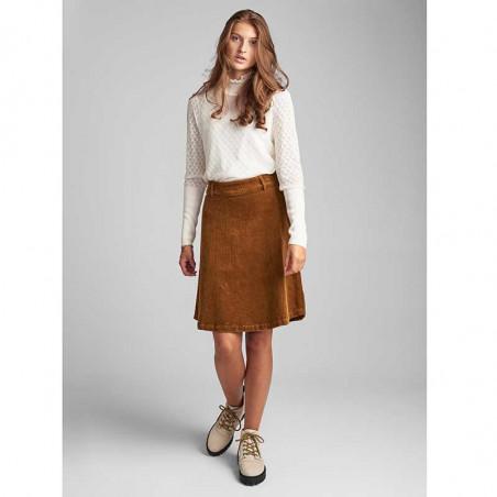 Nümph Nederdel, Numeghan, Bronze Brown numph tøj - Model