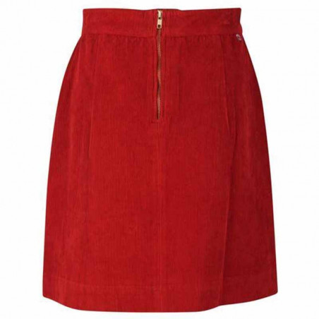 Danefæ Nederdel, London Cord Skirt, Rust Bagside