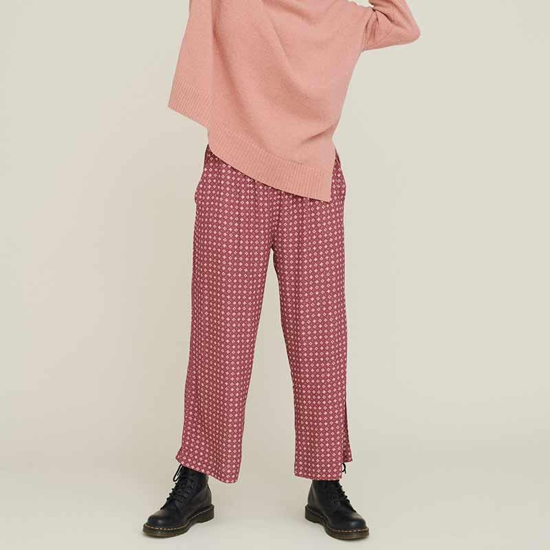 basic apparel – Basic apparel bukser, debbie, earth red fra superlove