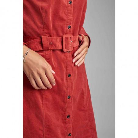 Nümph Kjole, Numaurya, Barn Red Numph kjole detalje