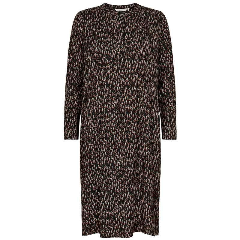 Nümph Kjole, Nubrylie Lizzeth Dress, Caviar