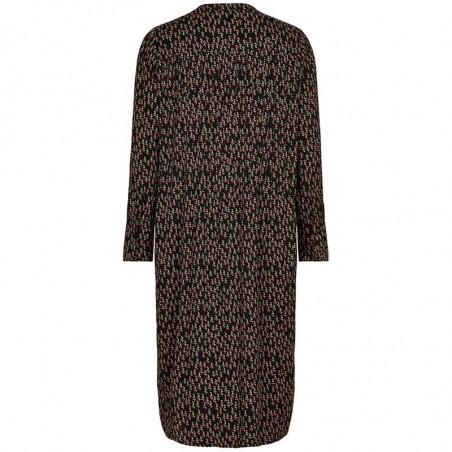 Nümph Kjole, Nubrylie Lizzeth Dress, Caviar bagfra