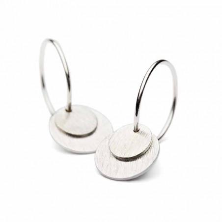 Pernille Corydon Øreringe, Small Coin, Sølv ørering pernille corydon earring