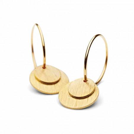 Pernille Corydon Øreringe, Small Coin, Guldørering pernille corydon earring