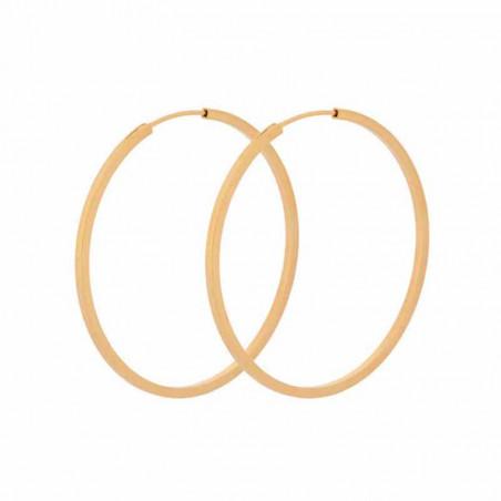 Pernille Corydon Øreringe, Small Orbit Hoops 40mm, Guld