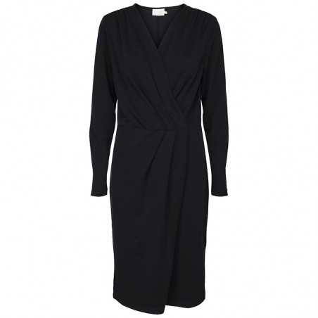 Minus Kjole, Paulia Dress, Black hverdagskjole festkjole