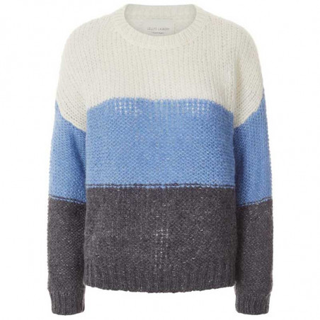 Lollys Laundry Strik, Terry Jumper, BlueL ollys Laundry Pullover