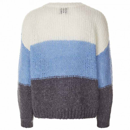 Lollys Laundry Strik, Terry Jumper, BlueL ollys Laundry Pullover ryg