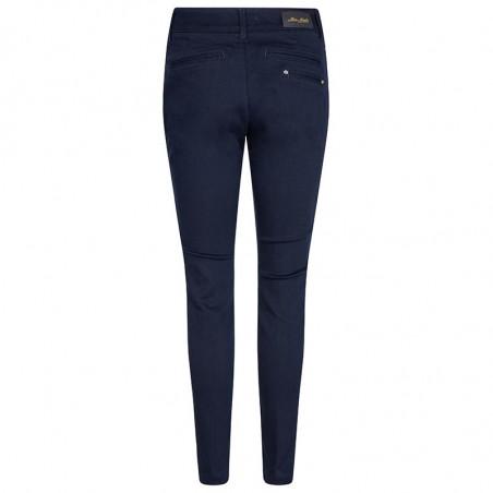 Mos Mosh Jeans, Blake DB, Dark Blue Mos Mosh bukser bagfra