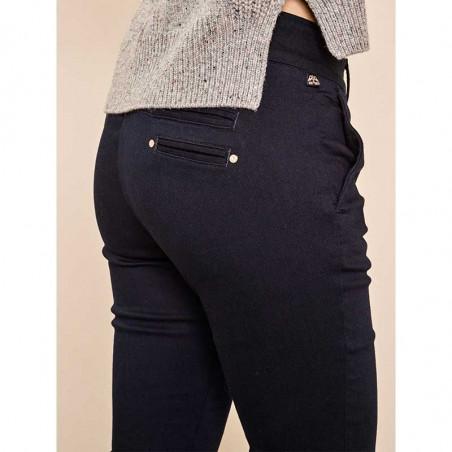 Mos Mosh Jeans, Blake DB, Dark Blue Mos Mosh bukser detalje
