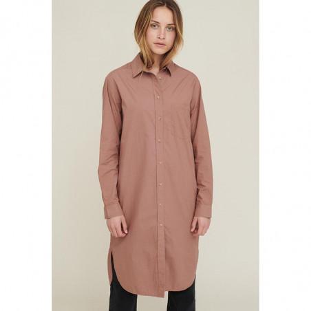 Basic Apparel Skjorte Kjole, Vilde Organic, Acorn Basic Apparel Shirt dress  look