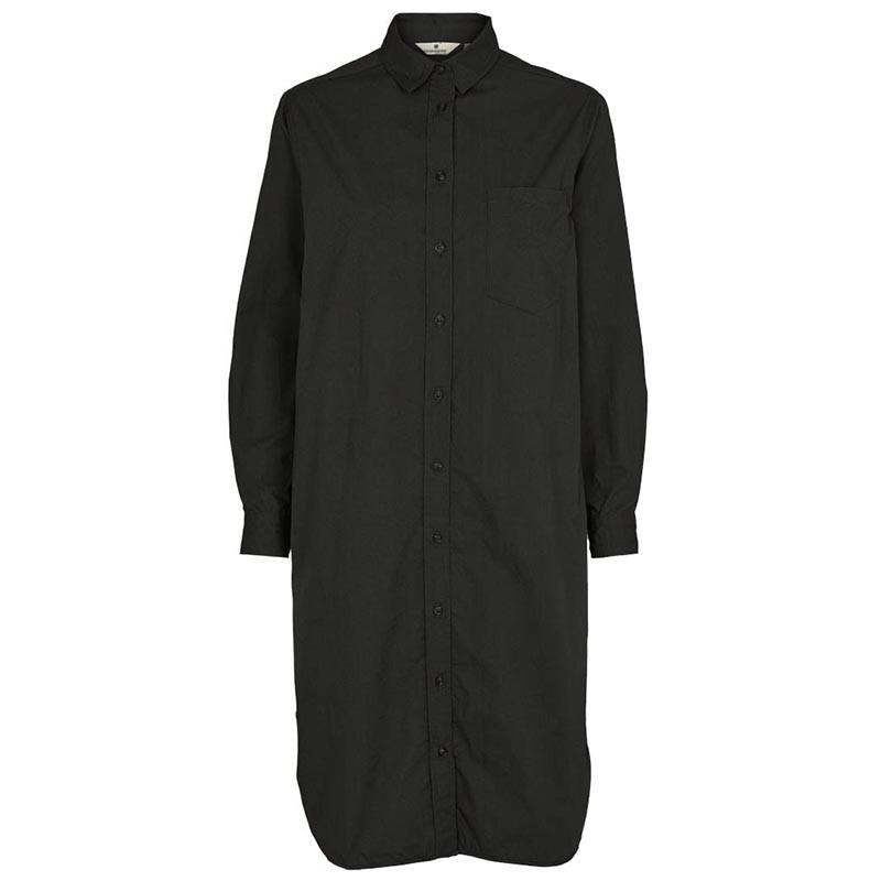 Billede af Basic Apparel Skjortekjole, Vilde Organic, Black