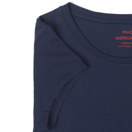 Mads Nørgaard T-Shirt, Teasy, Sky Blue Mads Nørgaard T shirt detalje