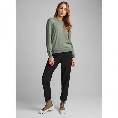 Nümph Bluse, Nubaojin, Agave Green pullover numph tøj look