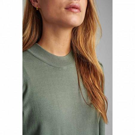 Nümph Bluse, Nubaojin, Agave Green pullover numph tøj detalje
