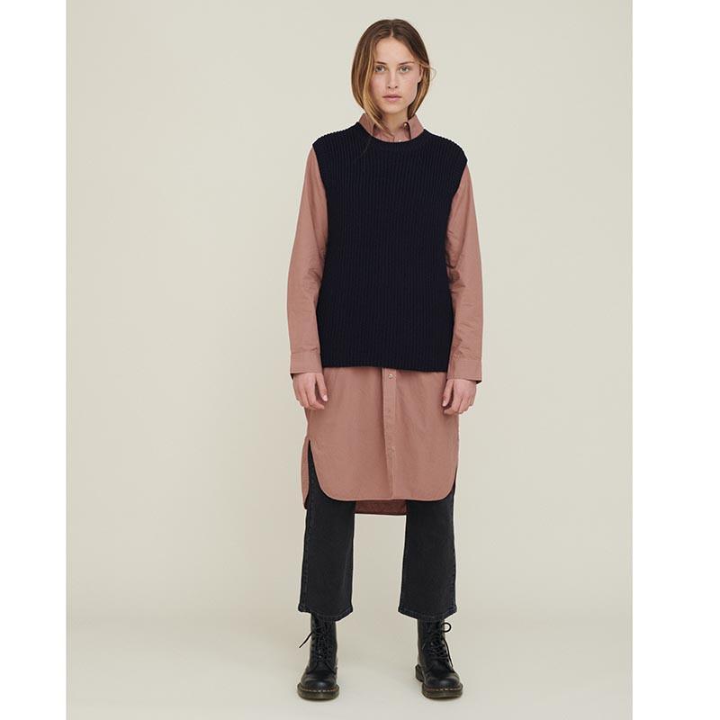 basic apparel Basic apparel vest, sweety, navy fra superlove