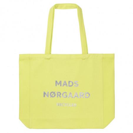 Mads Nørgaard Net, Athene Recycled, Blue Lime/Silver Mads Nørgård shopper