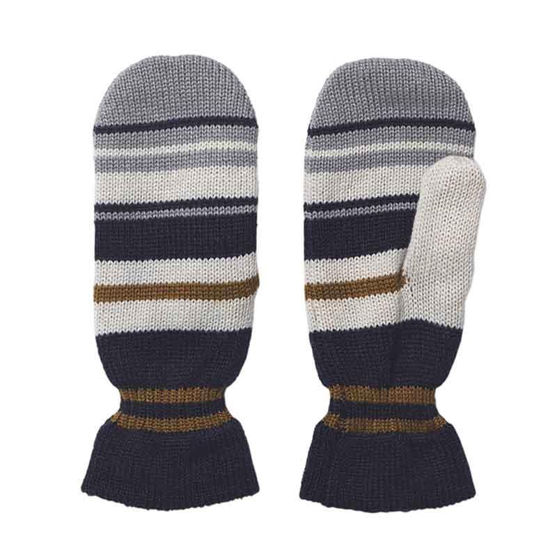 beck søndergaard – Beck søndergaard luffer, striped emerald mittens, blue på superlove