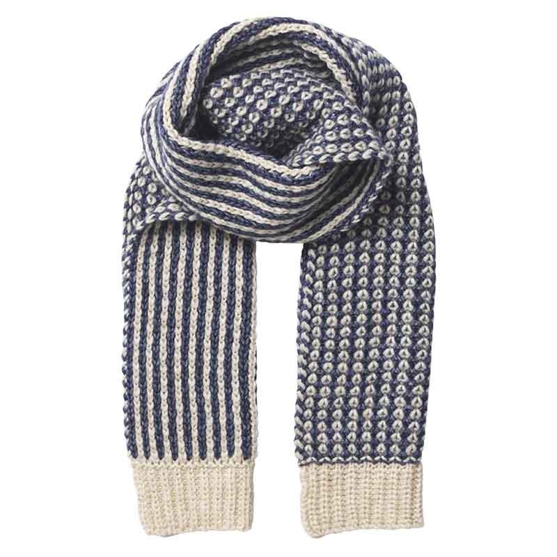 Beck Söndergaard Tørklæde, Kali scarf, Blue