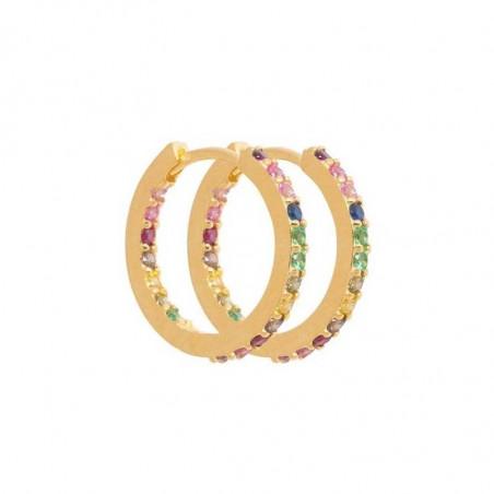 Pico Øreringe, Rainy One Medium, Multi Pico copenhagen smykker