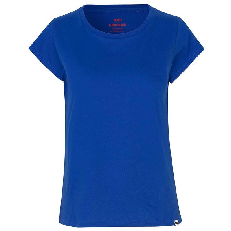 mads nørgaard Mads nørgaard t-shirt, teasy organic, blue på superlove