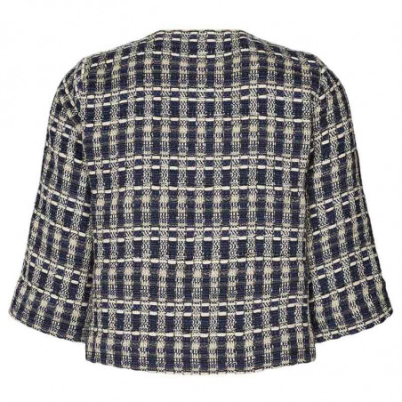 Lollys Laundry Jakke, Trine Jacket, Dark Blue bagfra