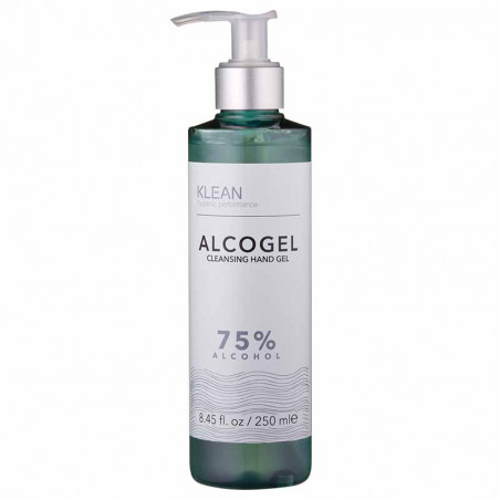 Klean Alcogel, Cleansing Hand Gel, Blue